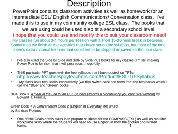 ESL PowerPoint Lesson: Conversations & Idioms (6b)