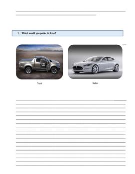ESL   Preferences Writing  Assessment