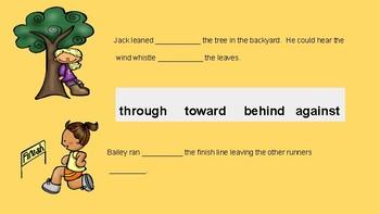 ESL - Prepositions