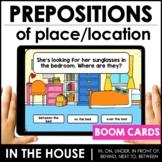 ESL Prepositions of Place BOOM CARDS™ – Digital Task Cards