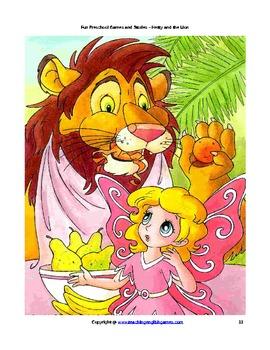 ESL Preschool Story: Hetty and the Lion