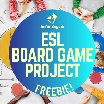ESL Project: Create Your Own English Board Game