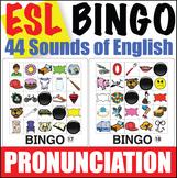 ESL Pronunciation Bingo - 44 English Sounds