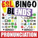 ESL Pronunciation Bingo - Blends