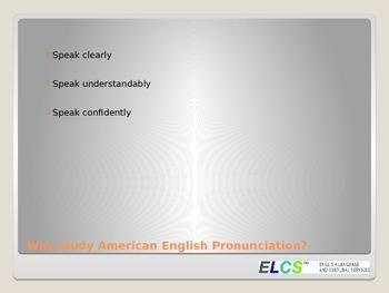 ESL Pronunciation- Difficult Consonant Sounds Workshop or Lessons