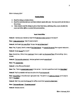 ESL Pronunciation Lesson:  Front Vowel /aw/