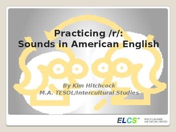 ESL Pronunciation Lesson or Presentation: /r/
