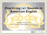 ESL Pronunciation Lesson or Presentation: /v/