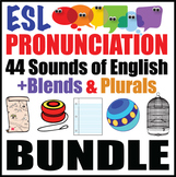 ESL Pronunciation Practice Bundle