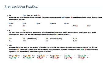 ESL Pronunciation Practice - Most problematic phonetic sounds tackled!