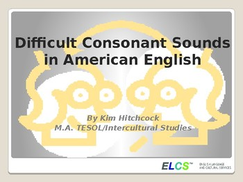 ESL Pronunciation Presentation or Lesson: /l/