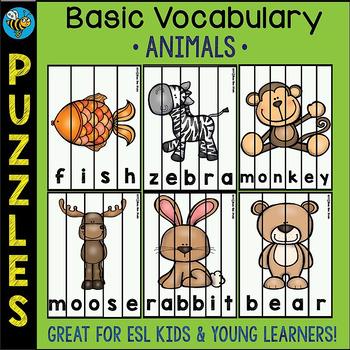 ESL Puzzles: Animals