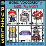 ESL Puzzles: Fairy Tale Words