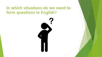 ESL: Question Formation Practice