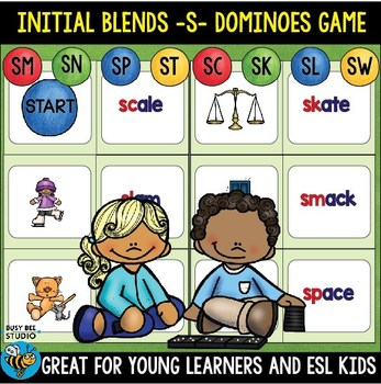 S Blends Game: Dominoes