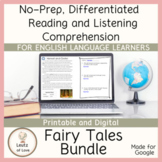 ESL Reading Comprehension Short Stories Fairy Tales & Folktales Bundle