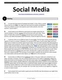 ESL Reading Practice: Social Media