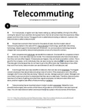 ESL Reading Practice: Telecommuting