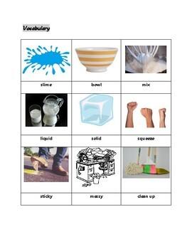 ESL Reading Practice: Making Slime