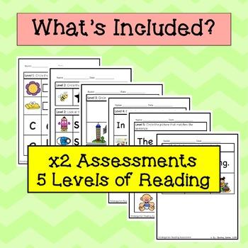 ELL Reading Progress Monitoring, Kindergarten