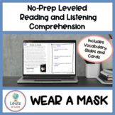 ESL Reading and Comprehension Exercises Wear a Mask