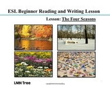 ESL Reading and Writing Lesson: The Four Seasons