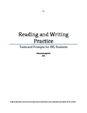 ESL Reading and Writing Practice Booklet - B1 Level