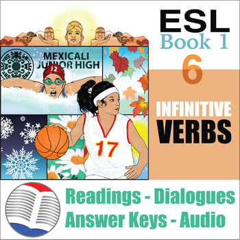 ESL Readings & Exercises Book 1-6