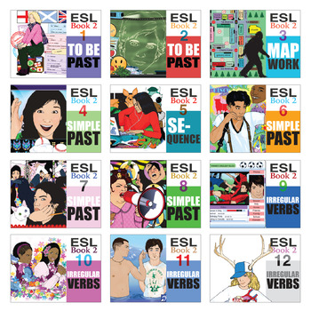 ESL Readings & Exercises Book 2 Bundle