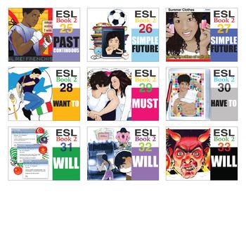 ESL Readings & Exercises Book 2 Bundle