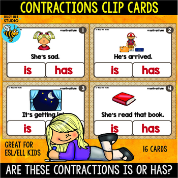 ESL Resources: Are these contractions is or has?