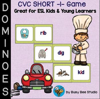 ESL Resources: CVC short -i- Domino Game