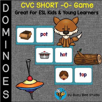 ESL Resources: CVC short -o- Domino Game