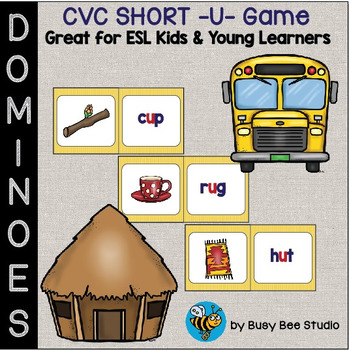ESL Resources: CVC short -u- Domino Game