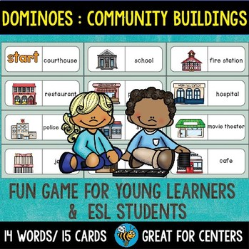 Early Finishers Activity | Dominoes: Community Buildings