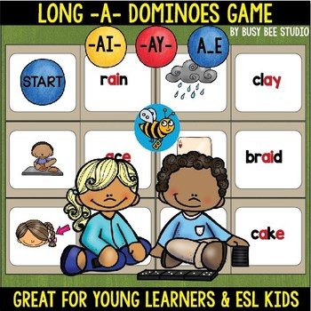 Long A Game: (ai, ay, a_e) Dominoes