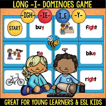Long -I- (ie, ight, y sounds like i)  Domino Game