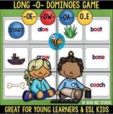 Long O Game: Dominoes (ow, oe, oa,o_e)