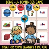 Long U Game:Dominoes (ue, ui, ew, u_e)