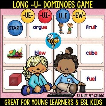 Long U Game:Dominoes (ue, ui, ew, u_e)