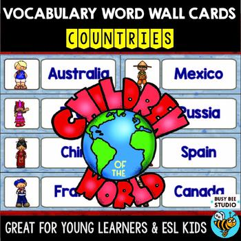 ESL Resources: Vocabulary Word Walls - Countries