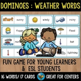 Early Finishers Activity | Dominoes: Weather Words