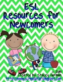 ESL  Resources for Newcomers