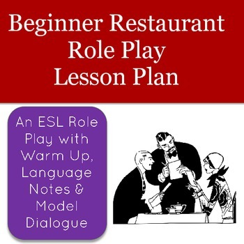 ESL Restaurant Role Play for Beginners