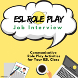 ESL Role Play Lesson - Job Interview | ESL Speaking Activities