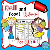 ESL Activities:   Fun ELL Game! Ideal for ESL Food Vocabulary!
