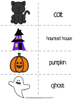 ESL Sabrina the Black Cat Halloween Story