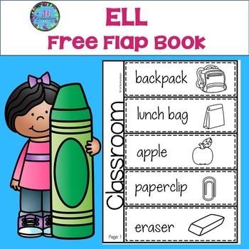 Free English As A Second Language ESL School Vocabulary