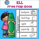 ESL School Flap Book - FREE!