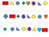ESL-Shapes Bingo _cut and play